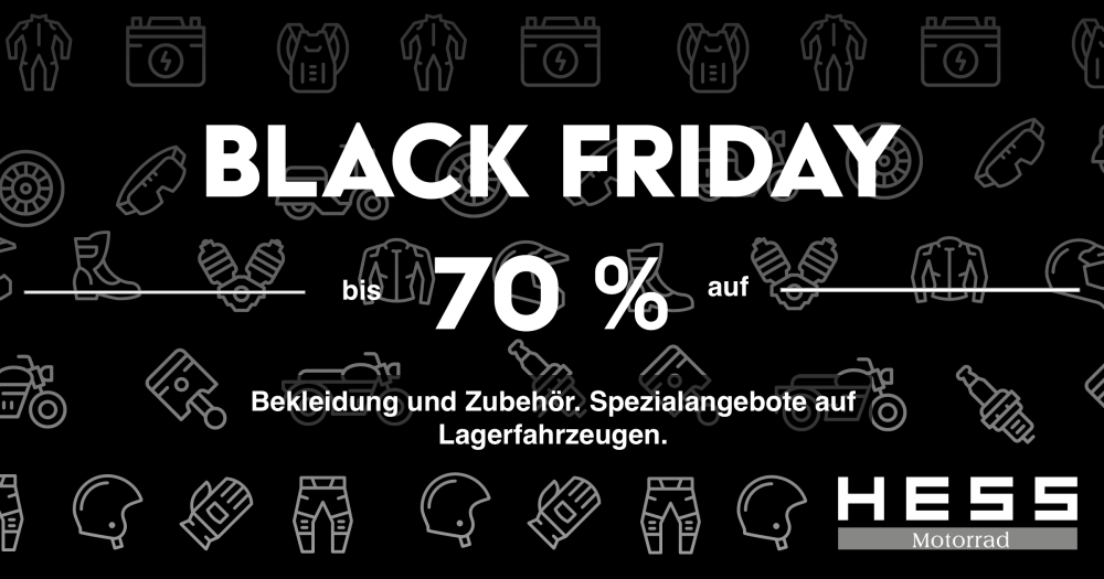 Black Friday Hess