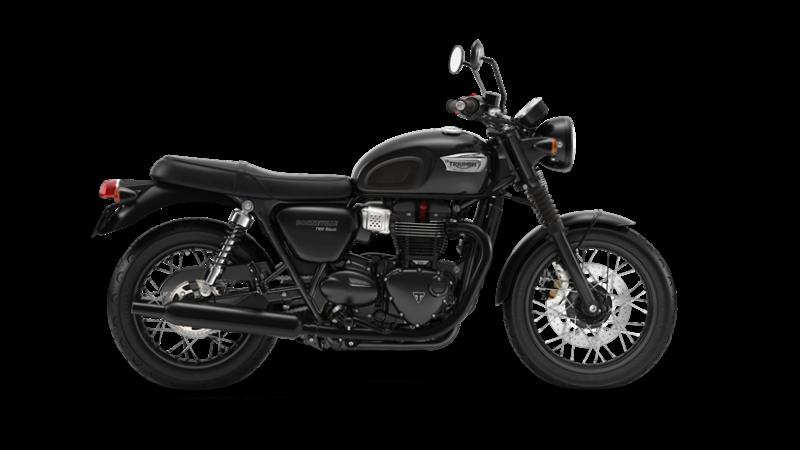 Bonneville T100 Black